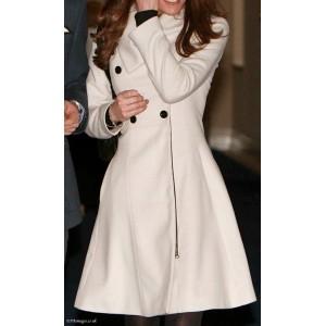 """Olivia"" Double-Breasted Coat"