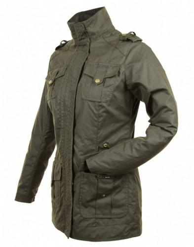 """Defence"" Waxed Jacket"