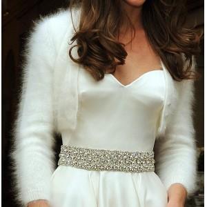 Royal Wedding Angora Shrug