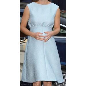 Bespoke Blue Maternity Dress