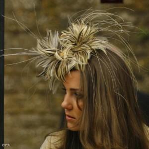 Feathery Fascinator