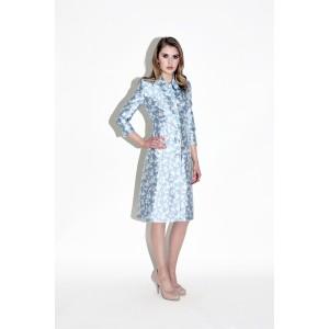 """Astrid"" Floral Coat Dress"