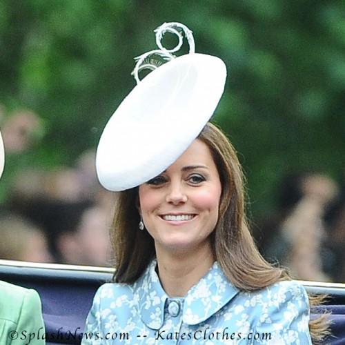 """""""Marisabel"""" White Trooping Hat"""