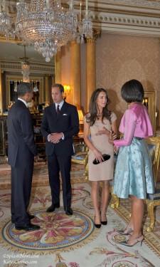Meeting the Obamas