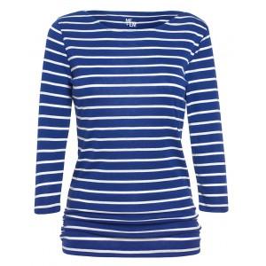 Reverse Stripe Breton Top