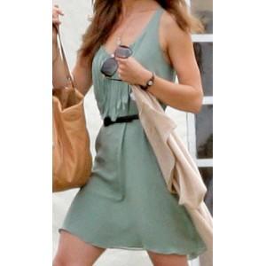 Mint Green Polo Dress