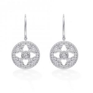 """""""Empress"""" Drop Earrings"""