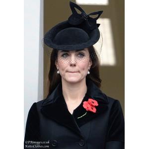 Black Butterfly Hat