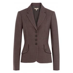 Wool Plaid Blazer