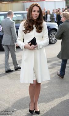 Duchess Kate at Downton Abbey