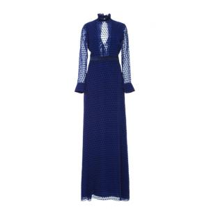 Mary Illusion Dot Dress