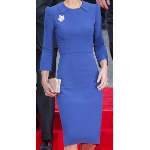 Bespoke Blue Arrival Dress