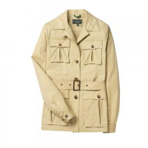 Multi-Pocket Safari Jacket