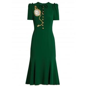Pocket Watch Midi Dress