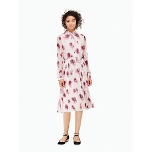 Encore Rose Chiffon Dress