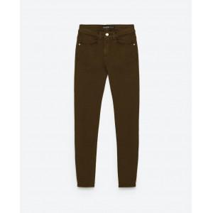 Skinny Mid-Rise Jean – Khaki