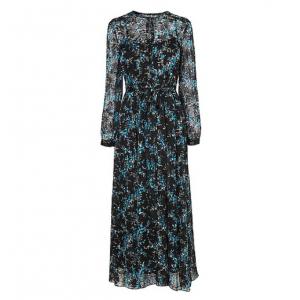 Cersei Evergreen Silk Dress