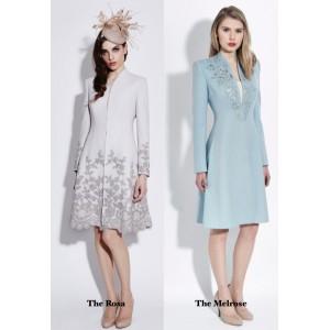 Custom Blue Coatdress
