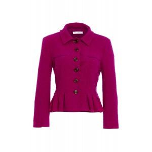 Pleated Wool Jacket