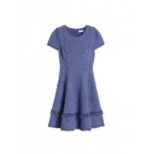 Sparkle Tweed Skirt/Dress