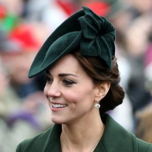 Green Poinsettia Hat
