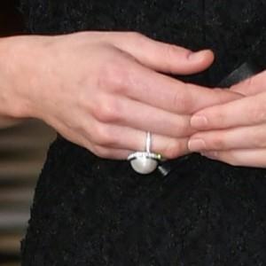 Pearl Balenciaga Cocktail Ring