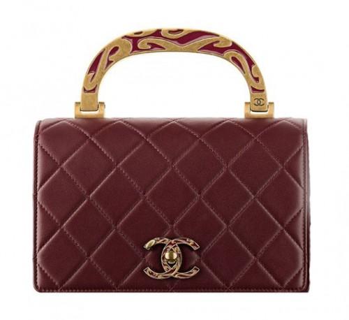 Calfskin Mini Chanel Bag
