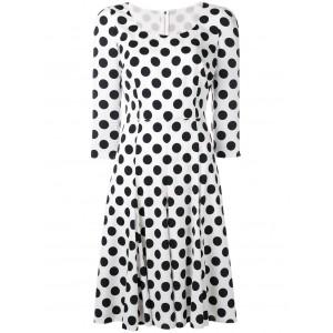 Polka Dotted Cady Dress